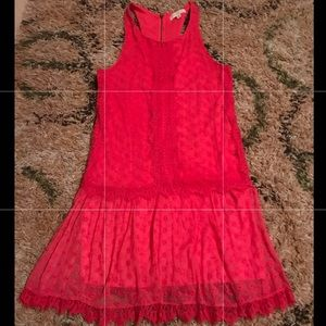 Love FIRE Lace dress - size Medium